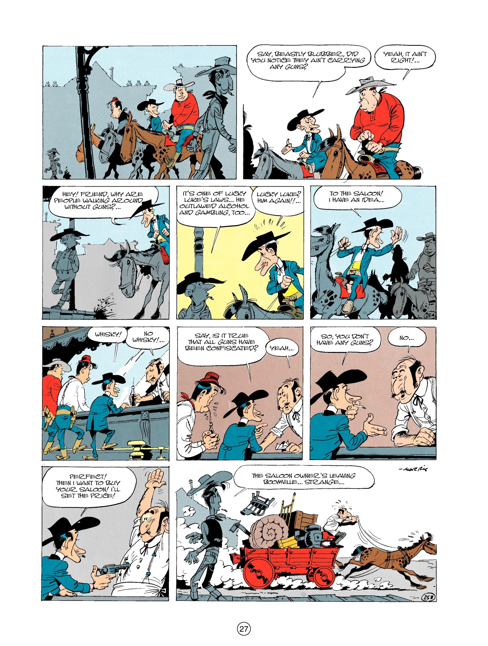 Read online A Lucky Luke Adventure comic -  Issue #20 - 27