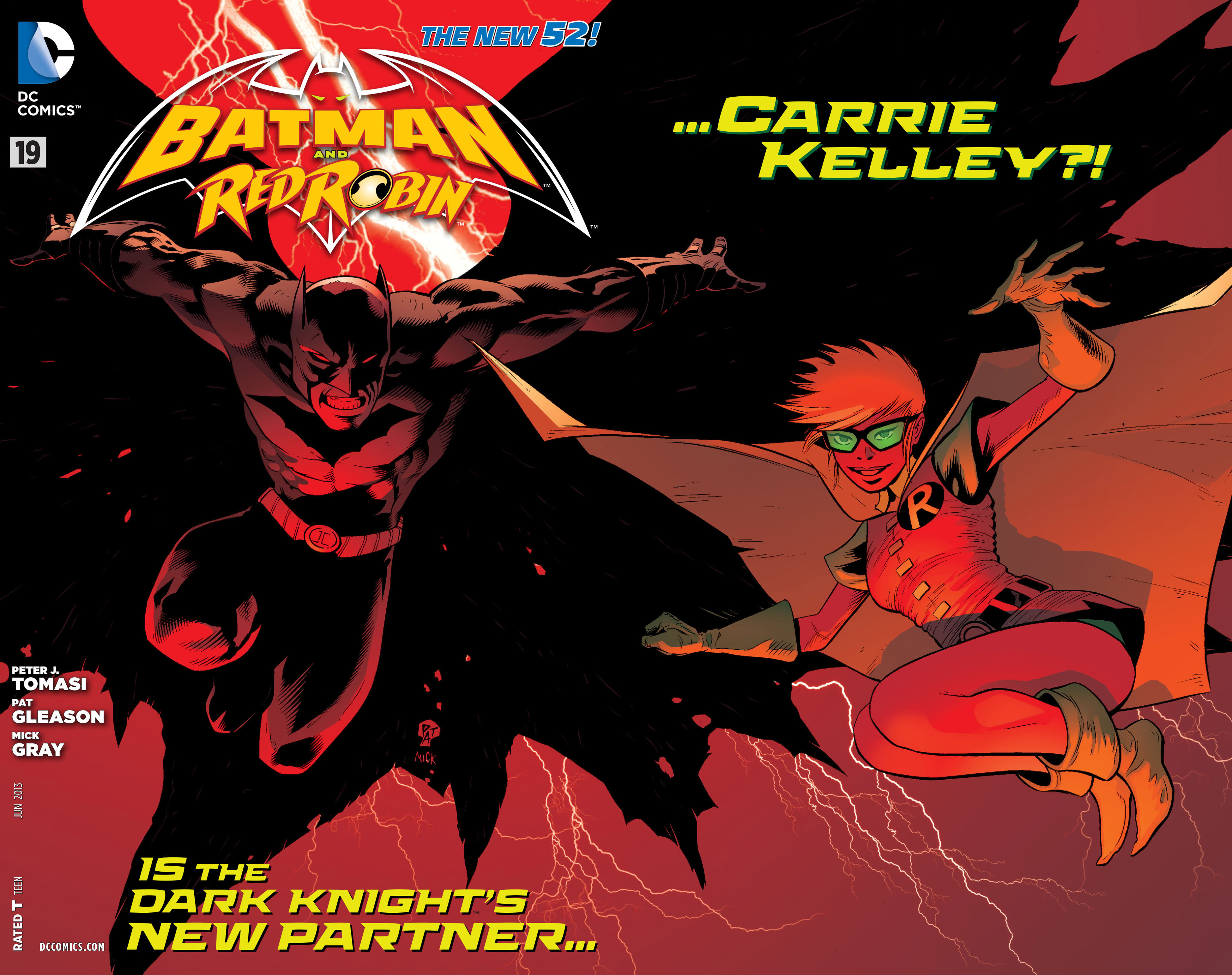 Read online Batman and Robin (2011) comic -  Issue #19 - 2