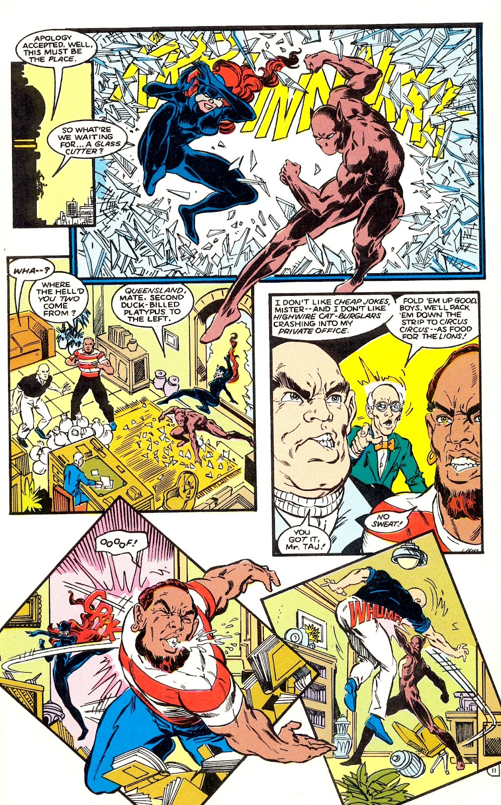 Infinity Inc. (1984) issue 35 - Page 13