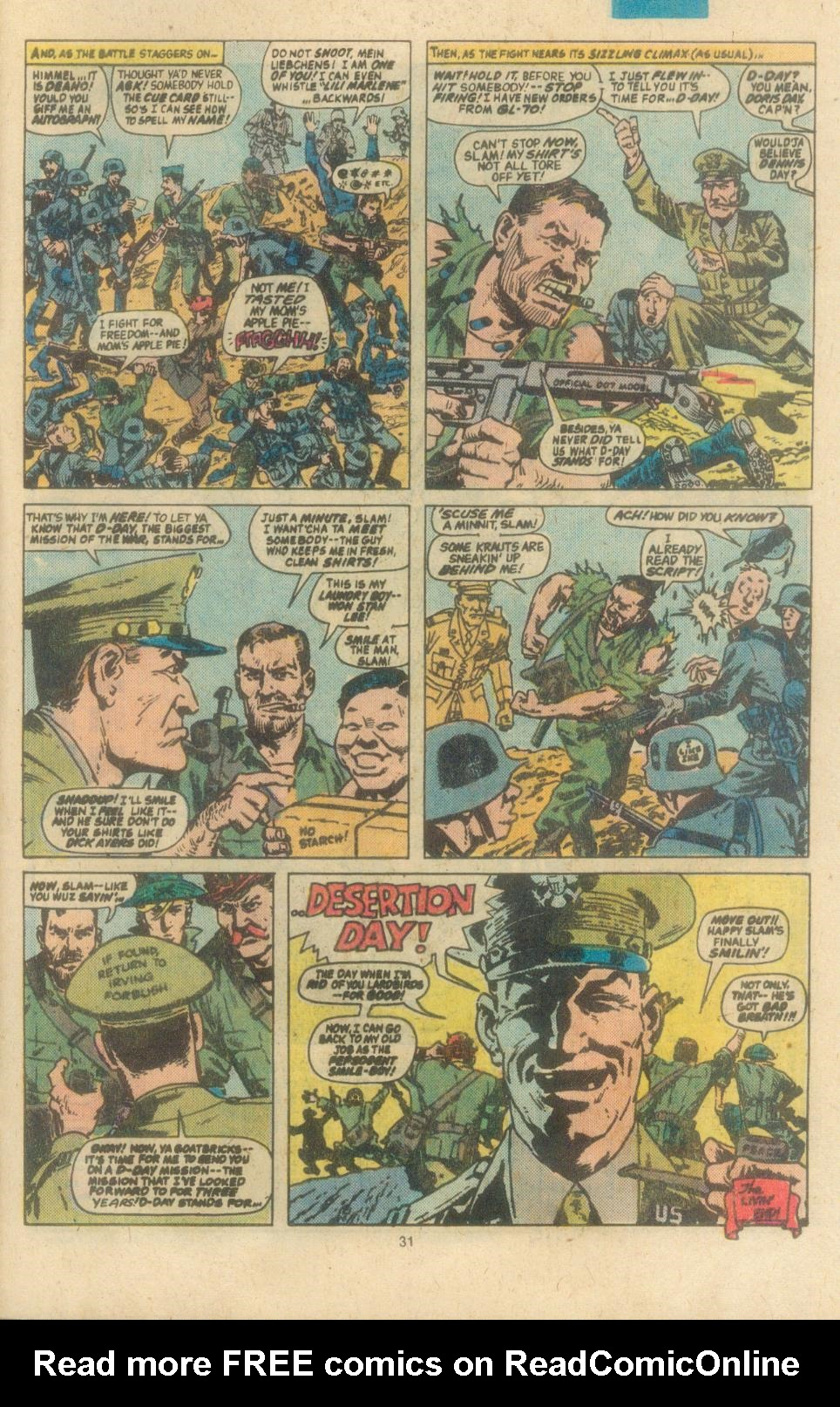 Read online Sgt. Fury comic -  Issue #162 - 33