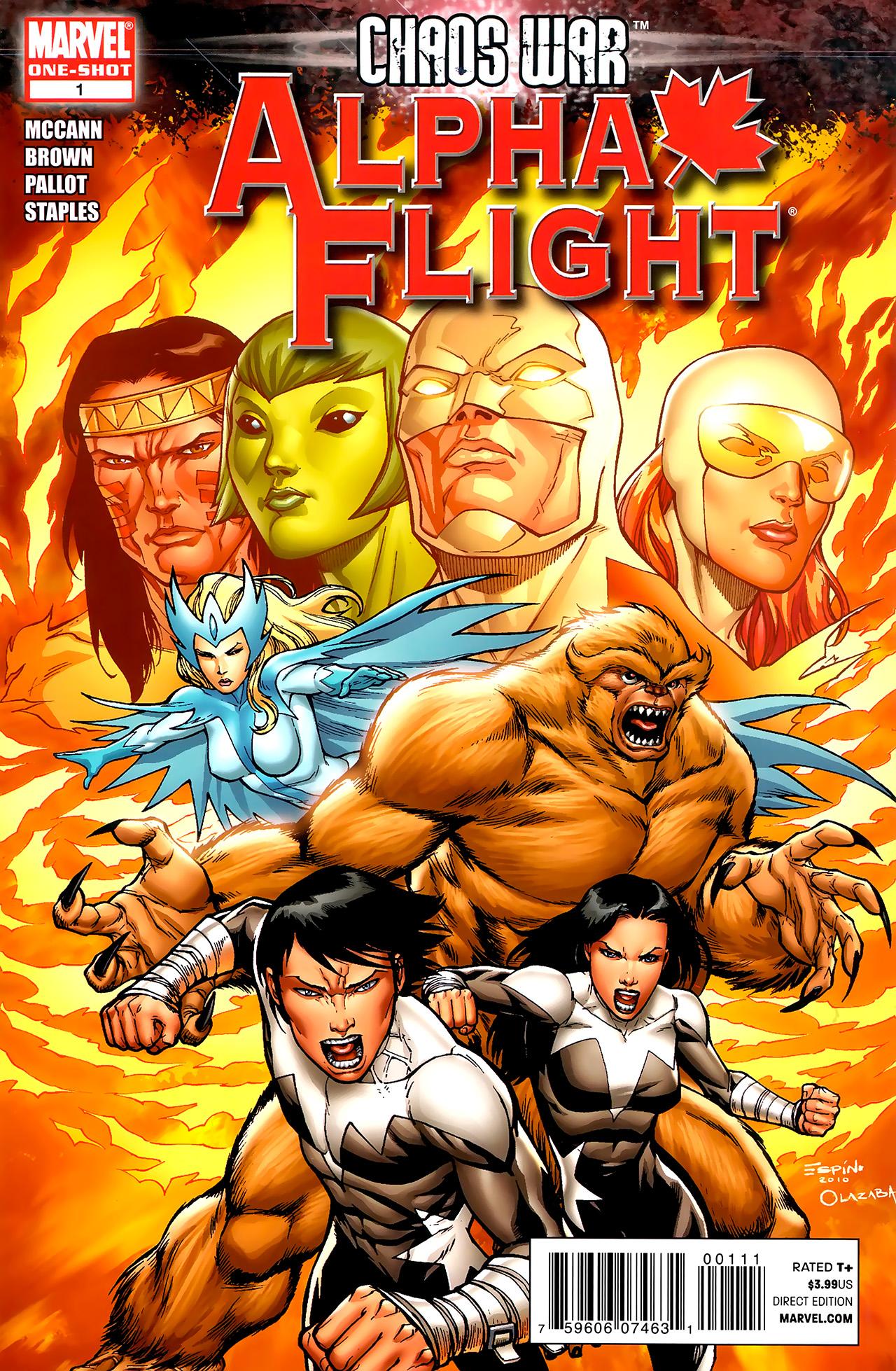 Read online Chaos War: Alpha Flight comic -  Issue # Full - 1