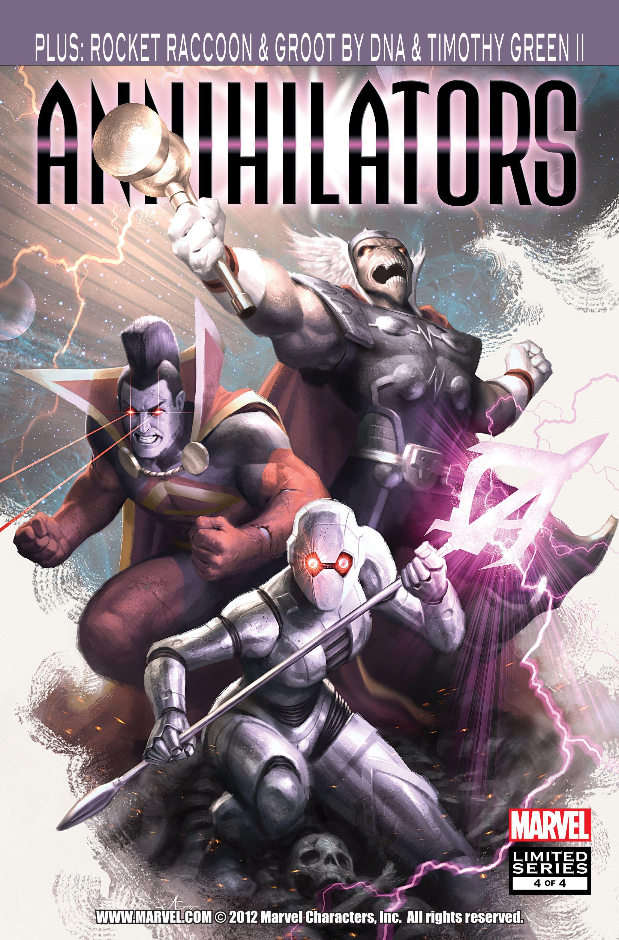 Read online Annihilators comic -  Issue #4 - 1