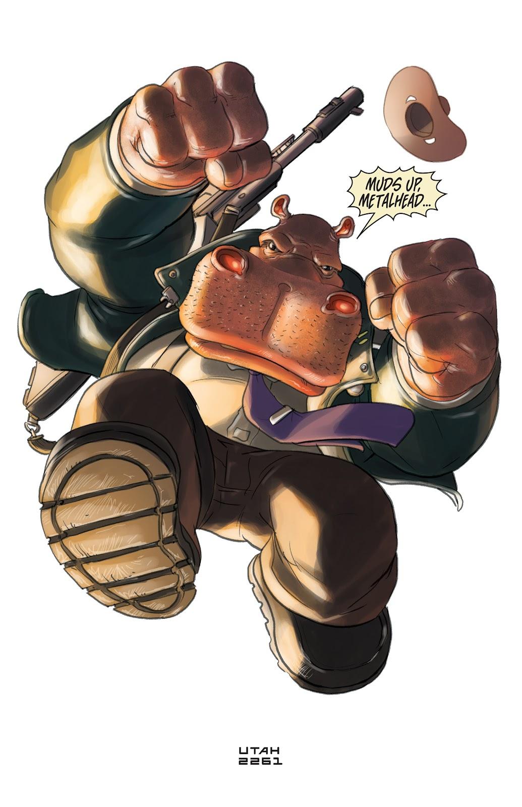 Read online Elephantmen 2261 Season Two: The Pentalion Job comic -  Issue # TPB - 52