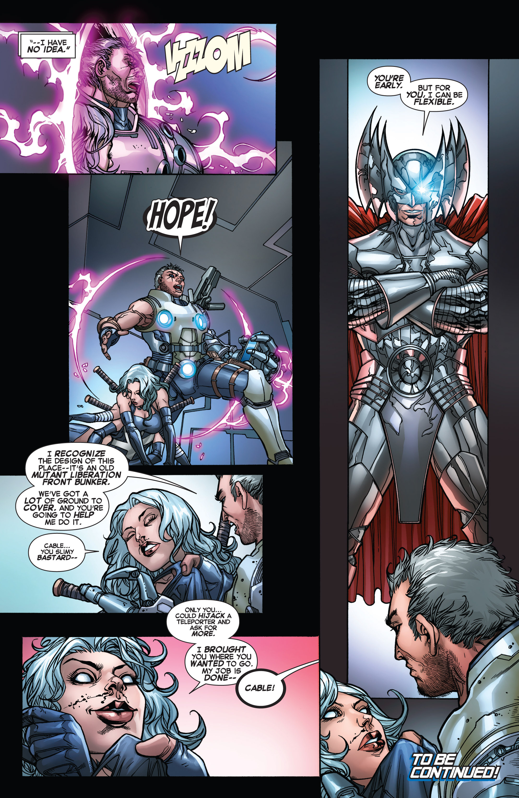 Read online Uncanny X-Force (2013) comic -  Issue #16 - 22
