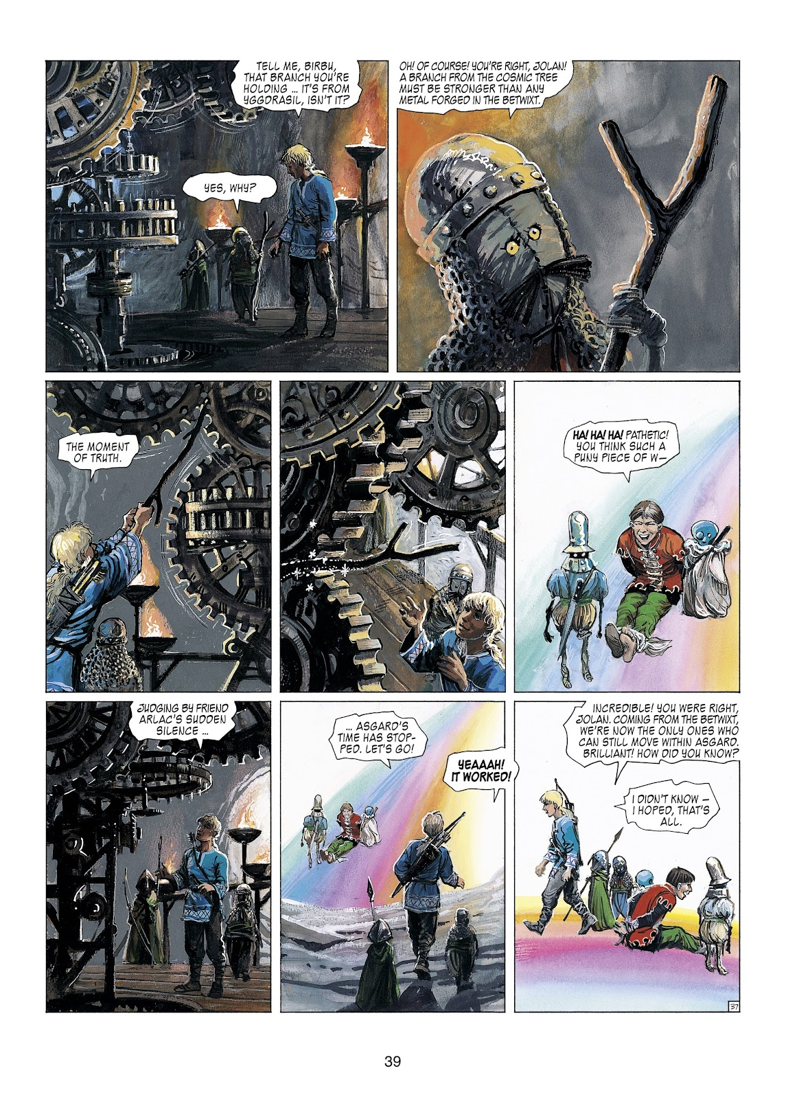 Read online Thorgal comic -  Issue #23 - 41