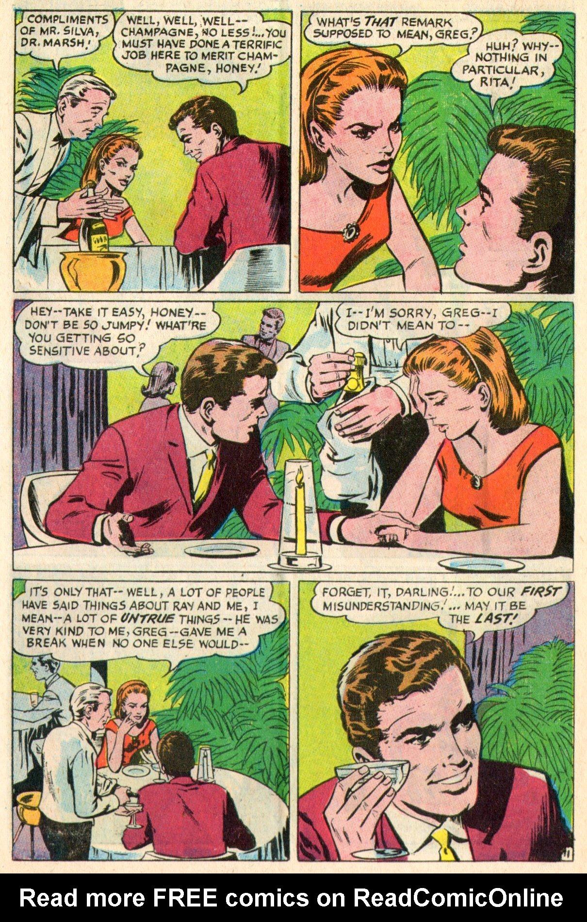 Read online Secret Hearts comic -  Issue #117 - 30