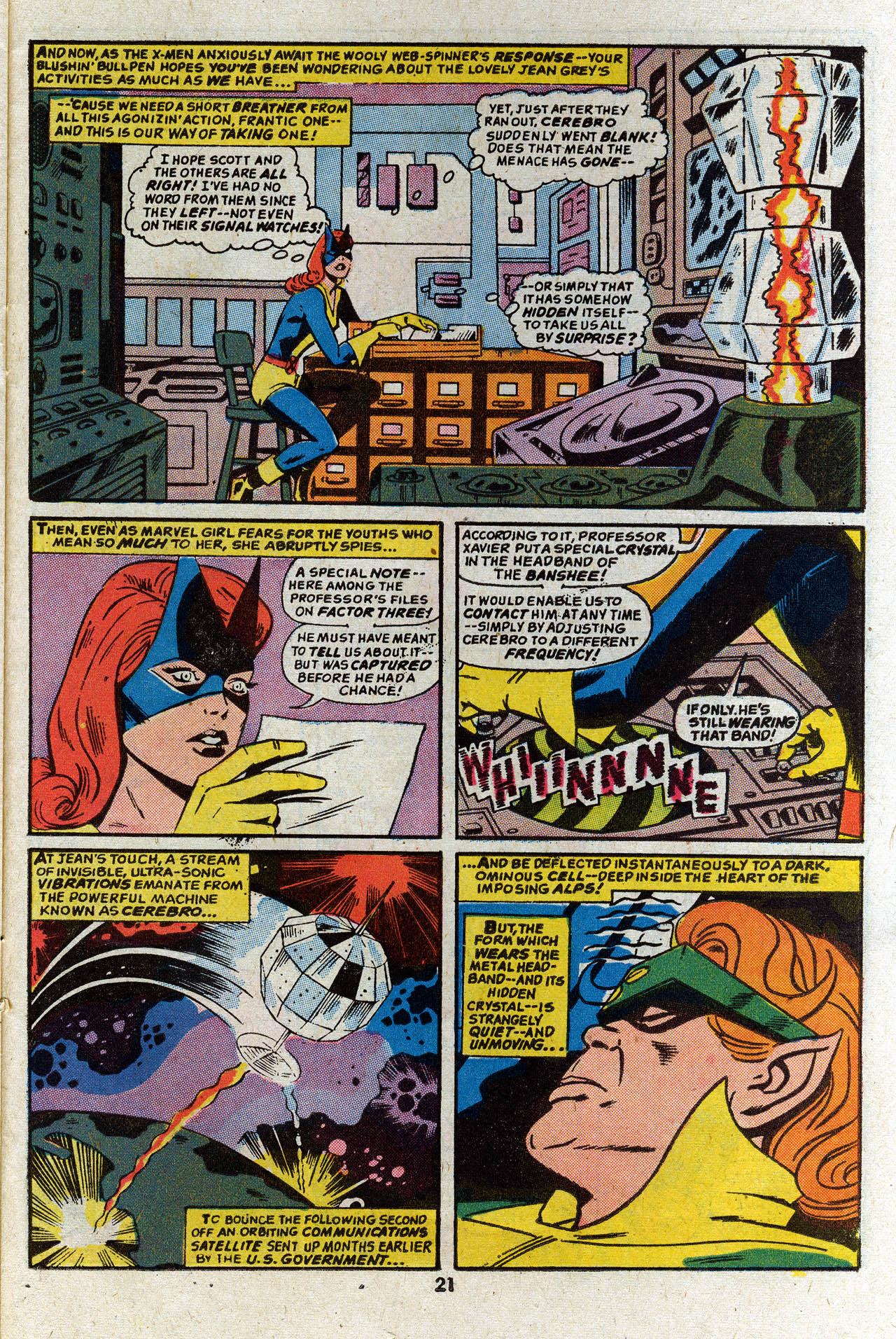 Read online Uncanny X-Men (1963) comic -  Issue #83 - 23