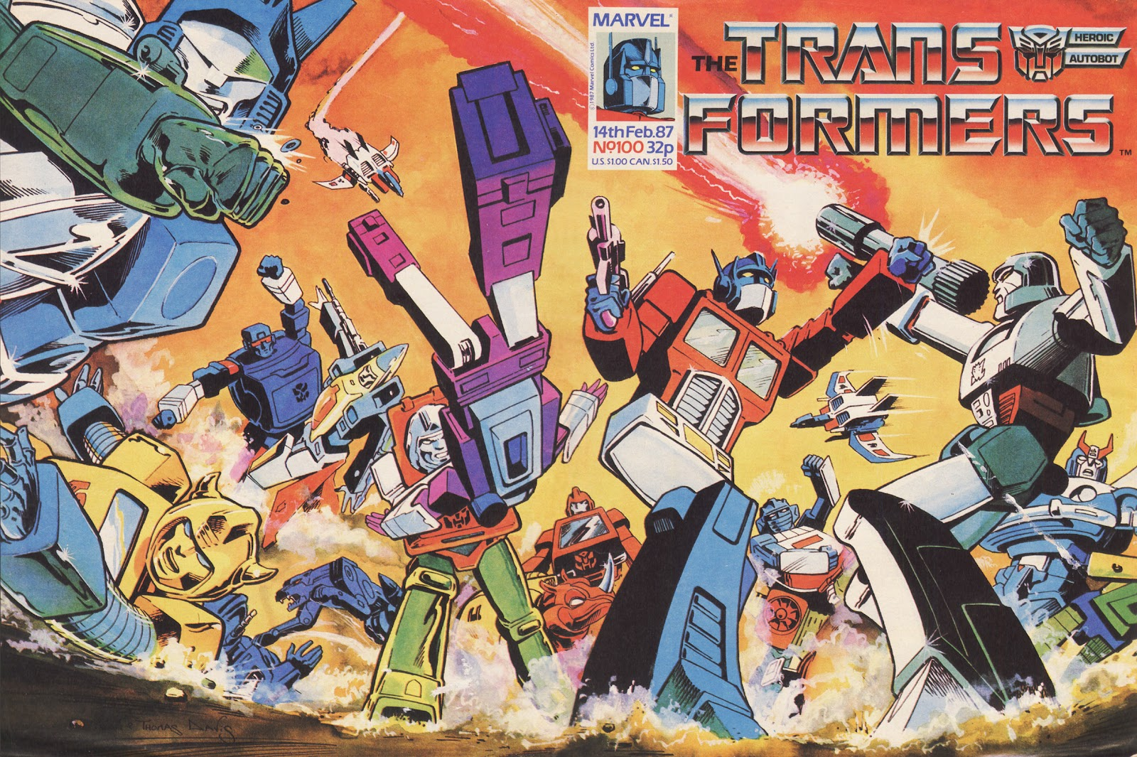 The Transformers (UK) 100 Page 1