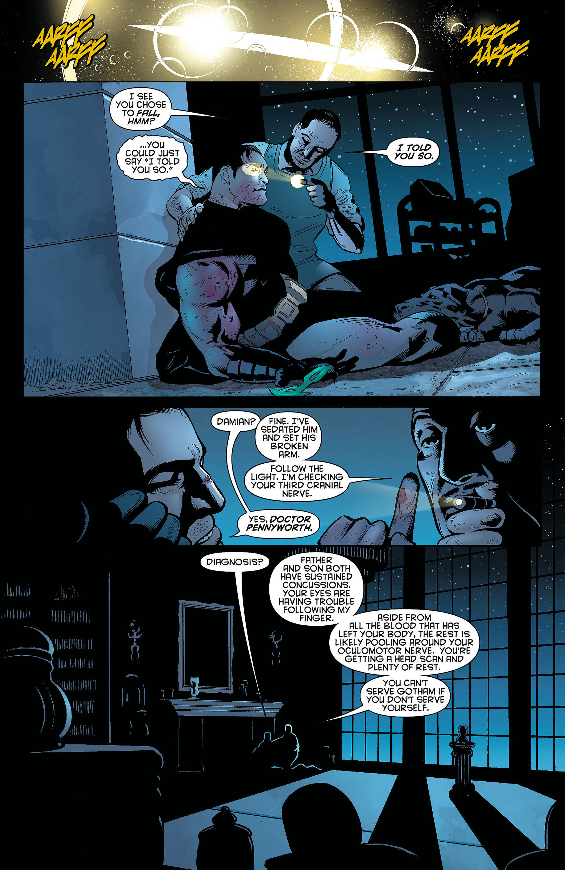 Read online Batman and Robin (2011) comic -  Issue #8 - 11