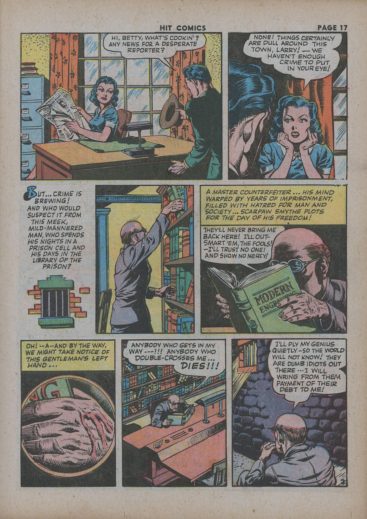 Read online Hit Comics comic -  Issue #27 - 19