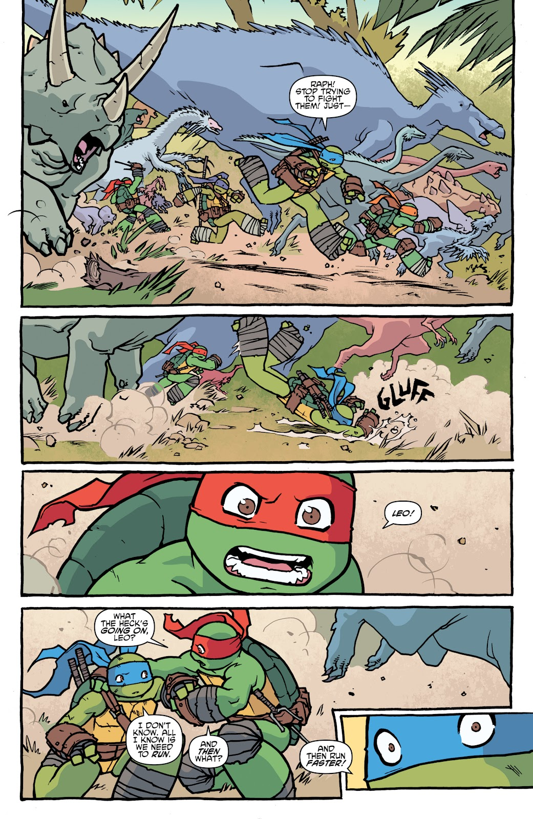 Read online Teenage Mutant Ninja Turtles: The IDW Collection comic -  Issue # TPB 5 (Part 1) - 9
