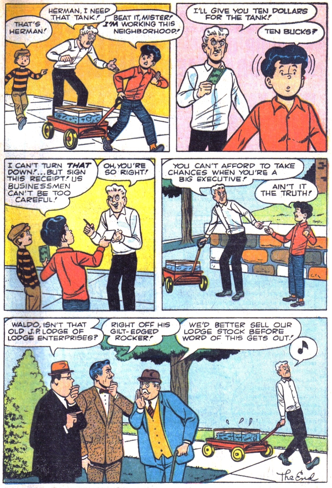 Read online Archie (1960) comic -  Issue #161 - 33