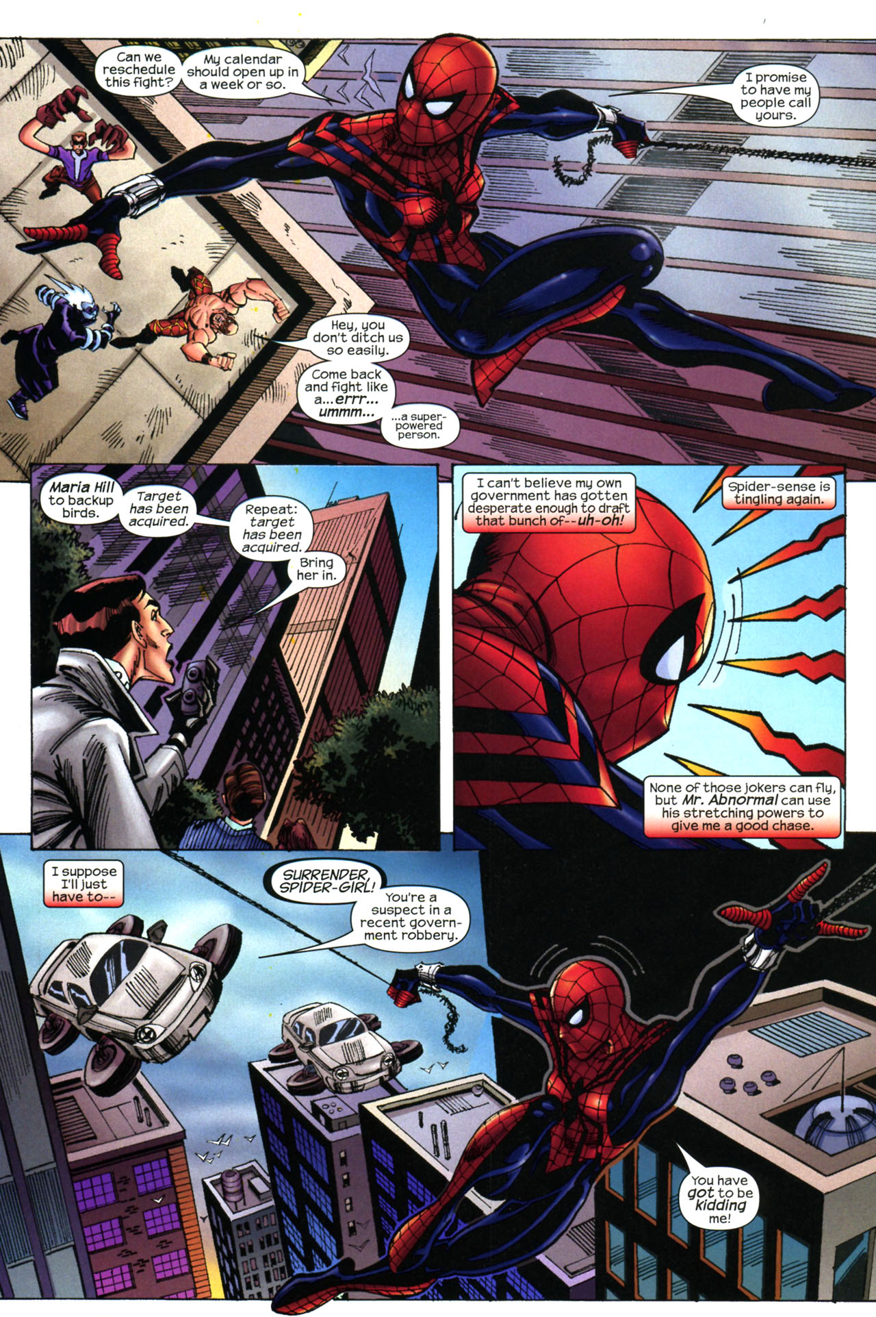 Read online Amazing Spider-Girl comic -  Issue #11 - 8