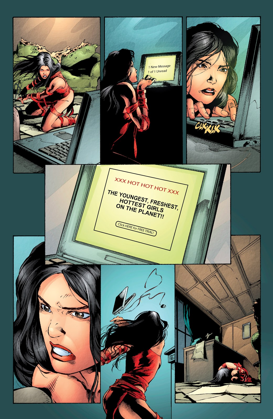 Read online Elektra (2001) comic -  Issue # _TPB Elektra by Greg Rucka Ultimate Collection (Part 2) - 19
