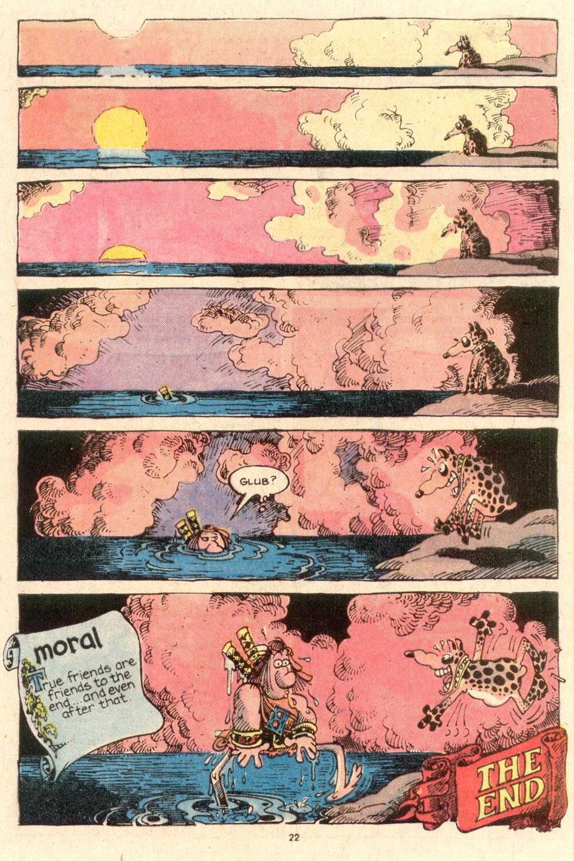 Read online Sergio Aragonés Groo the Wanderer comic -  Issue #53 - 25