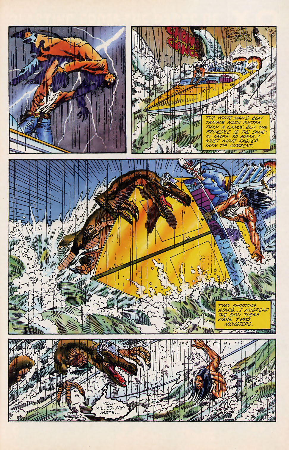 Read online Turok, Dinosaur Hunter (1993) comic -  Issue #12 - 19