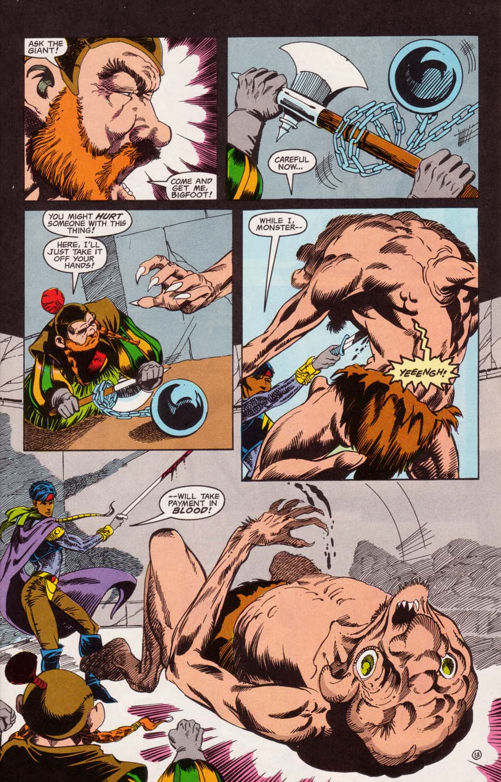 Read online Advanced Dungeons & Dragons comic -  Issue #5 - 14
