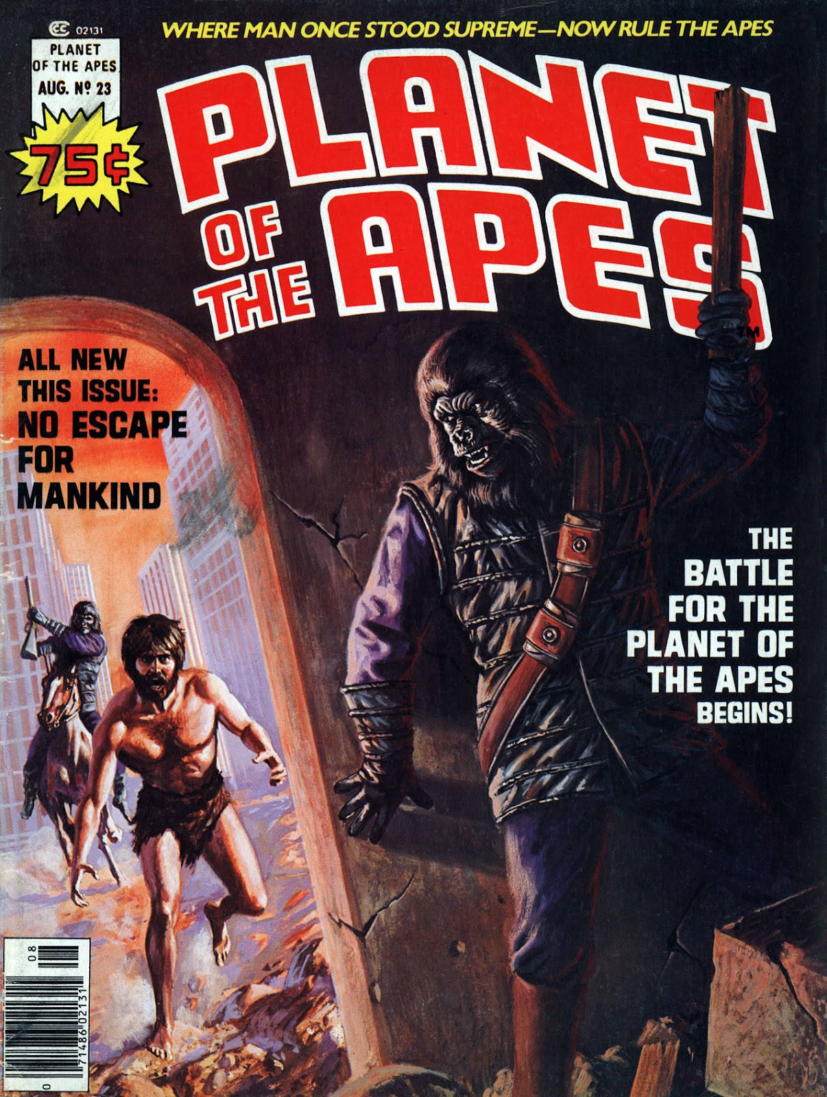 Planet of the Apes (1974) 23 Page 1