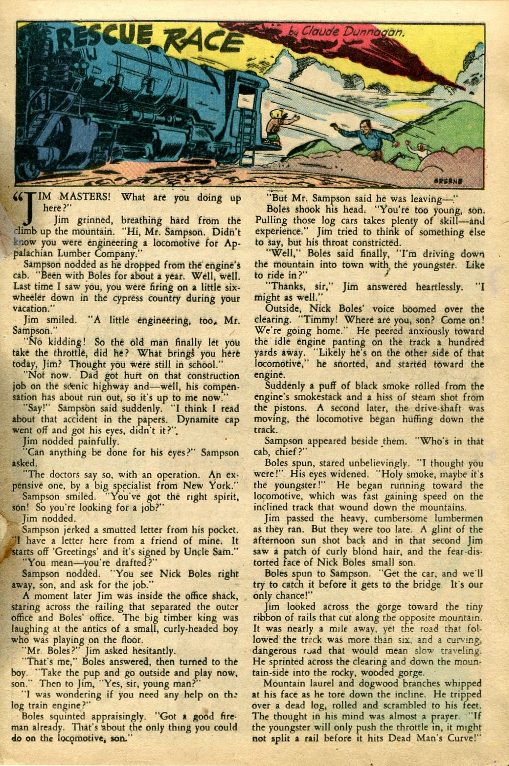 Read online Famous Funnies comic -  Issue #135 - 25