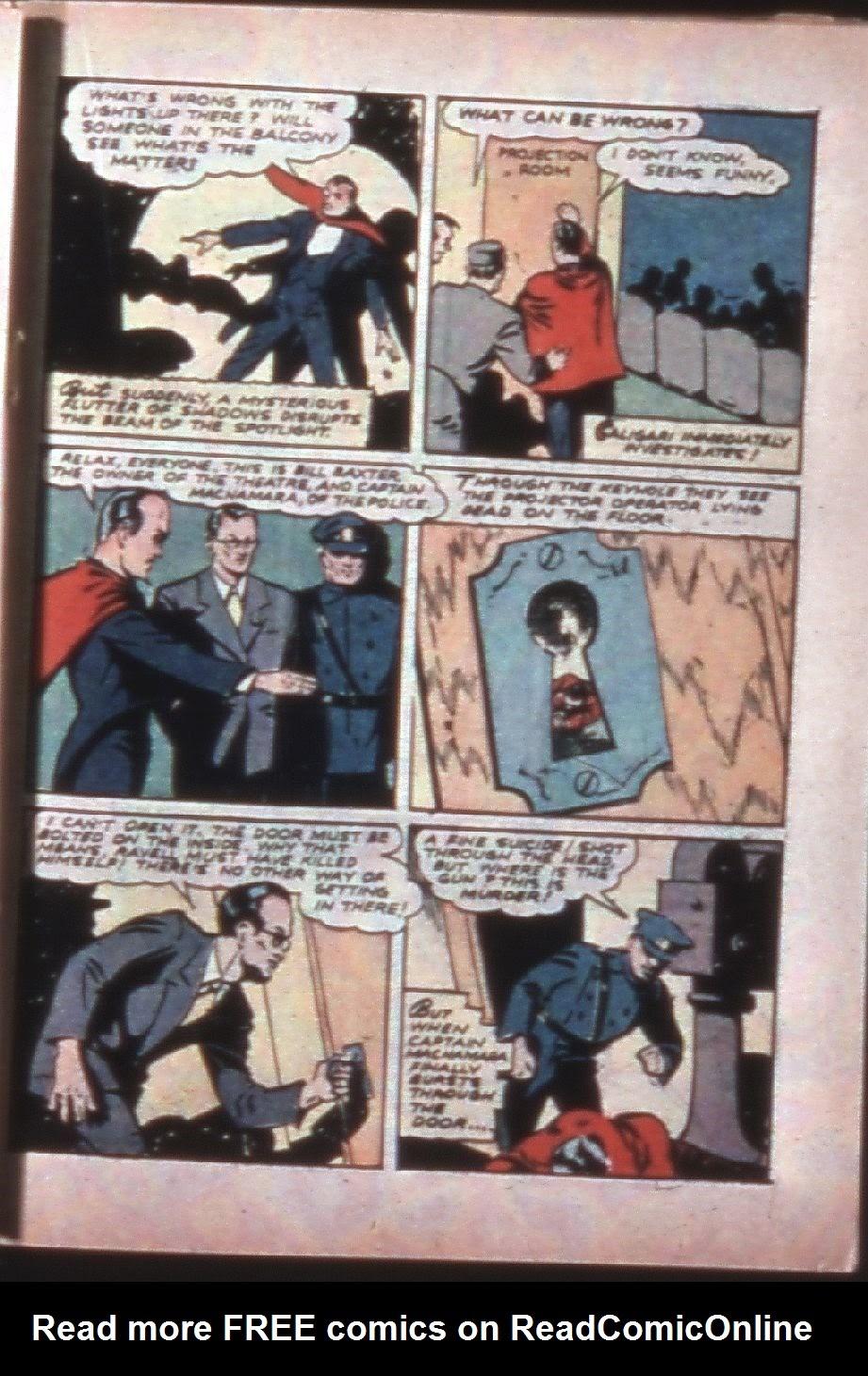 Read online Super-Magician Comics comic -  Issue #7 - 40