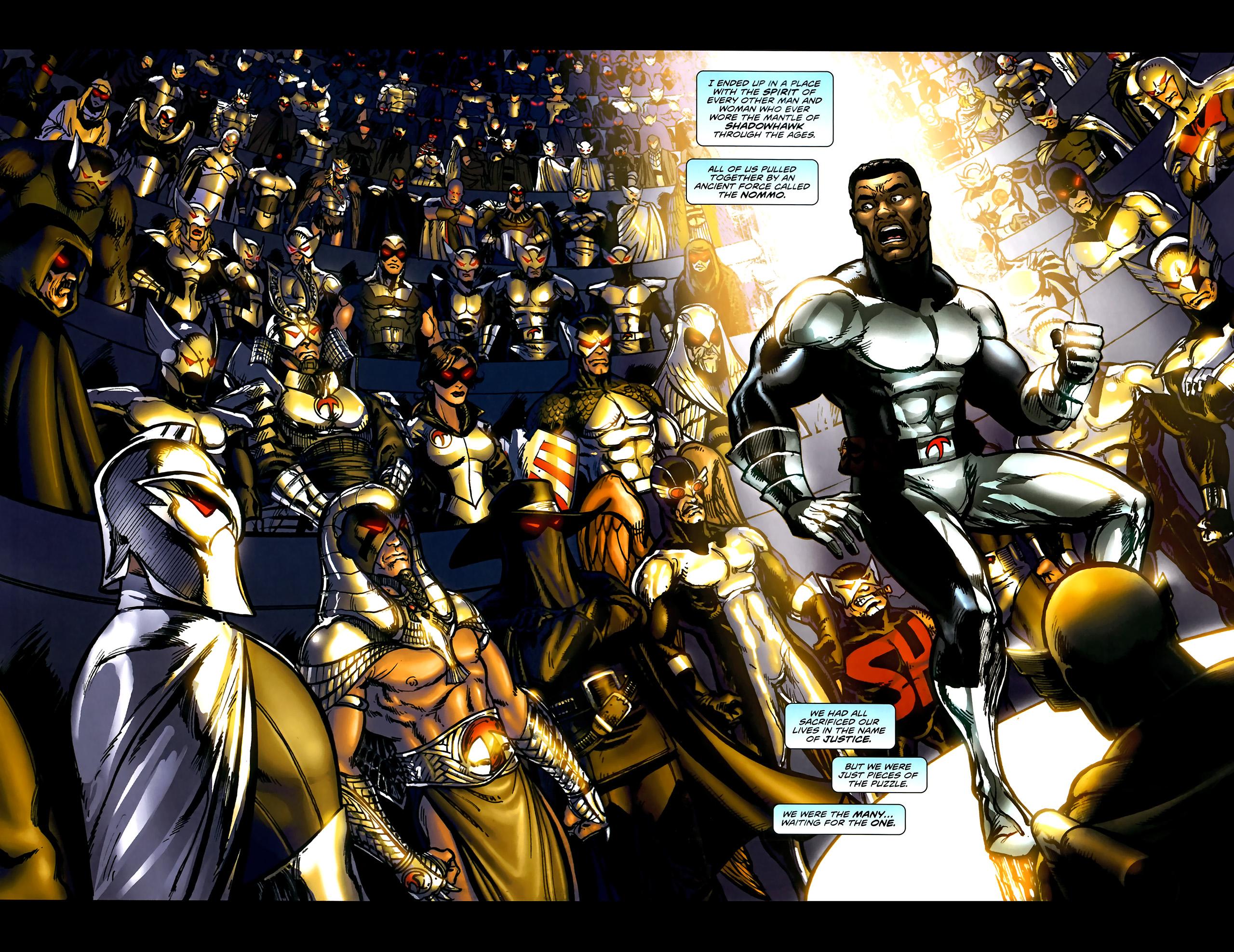 Read online ShadowHawk (2010) comic -  Issue #5 - 5