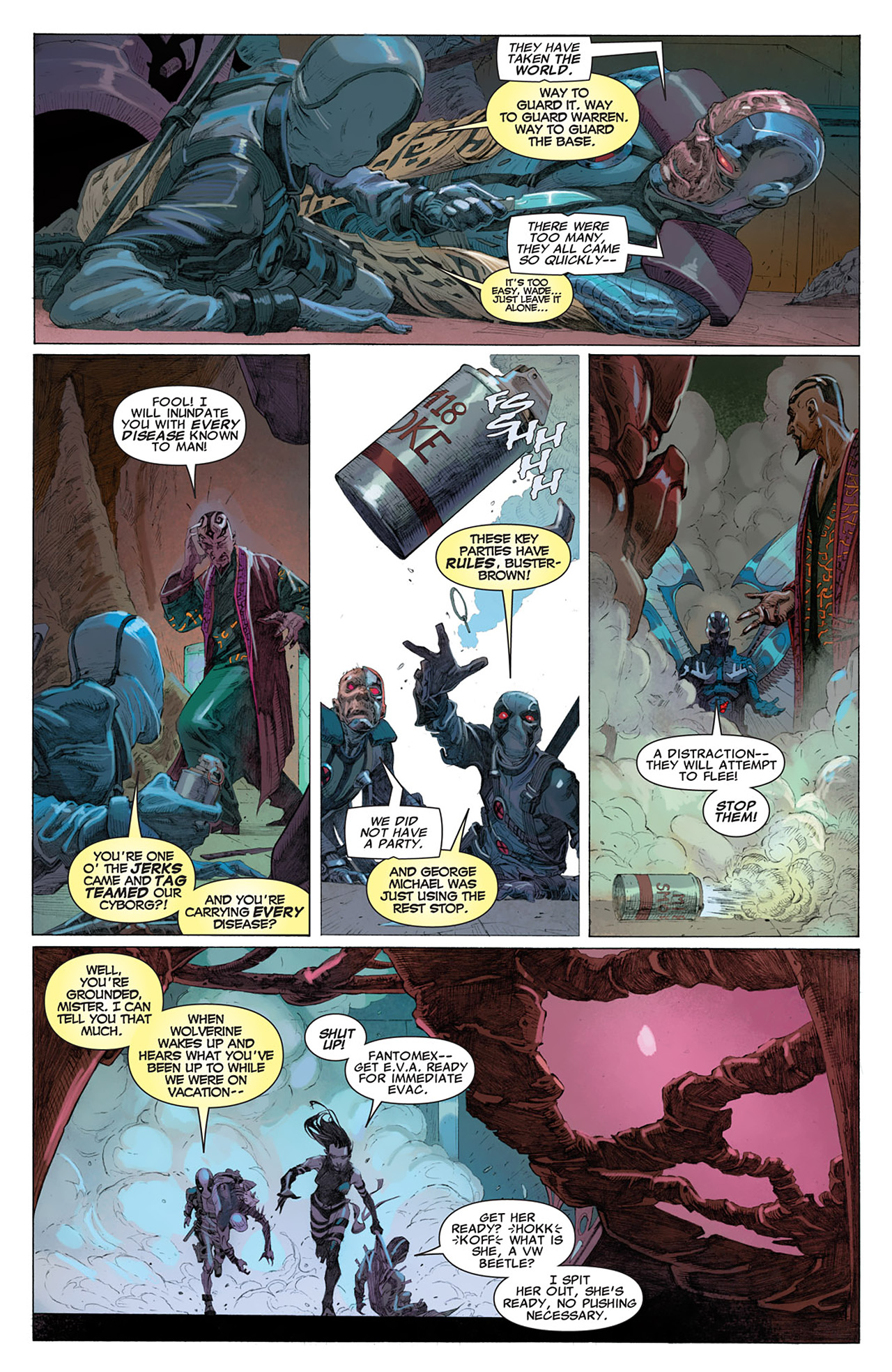 Read online Uncanny X-Force (2010) comic -  Issue #14 - 13