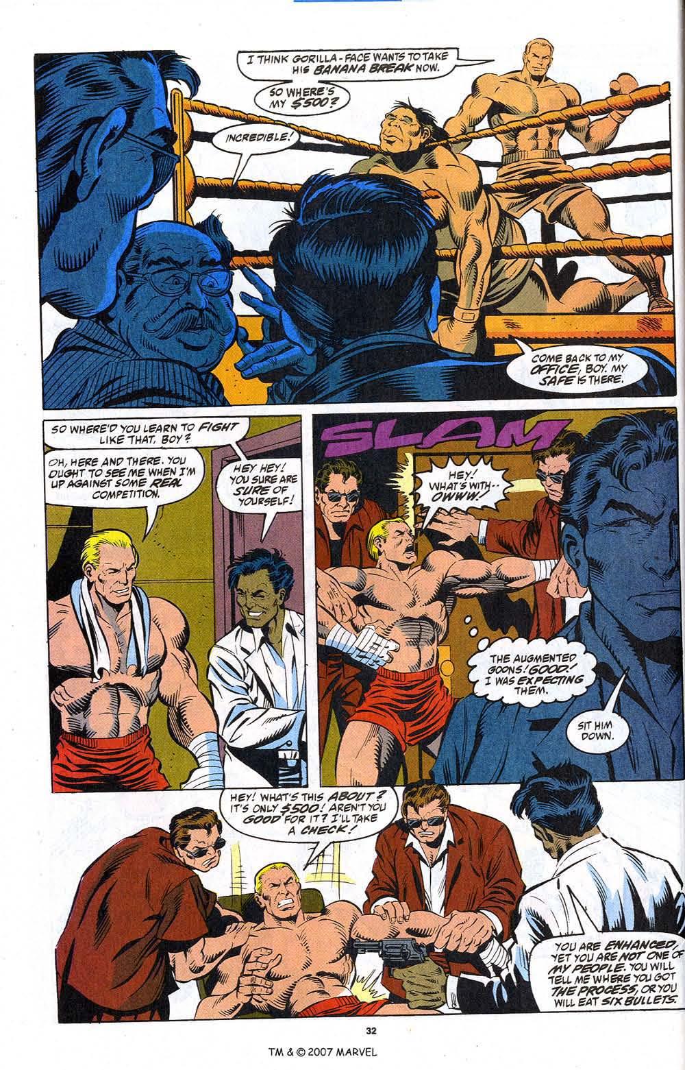 Read online Captain America (1968) comic -  Issue # _Annual 12 - 34