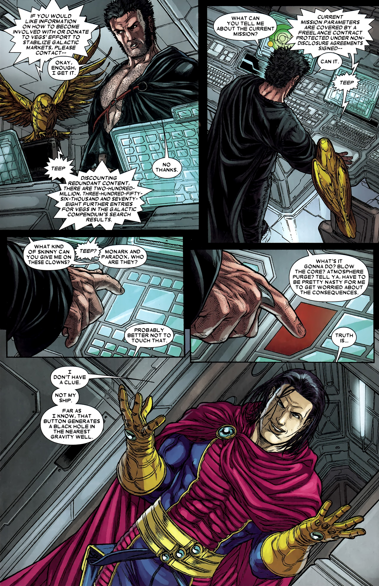 Read online Wolverine: The Best There Is comic -  Issue #9 - 6