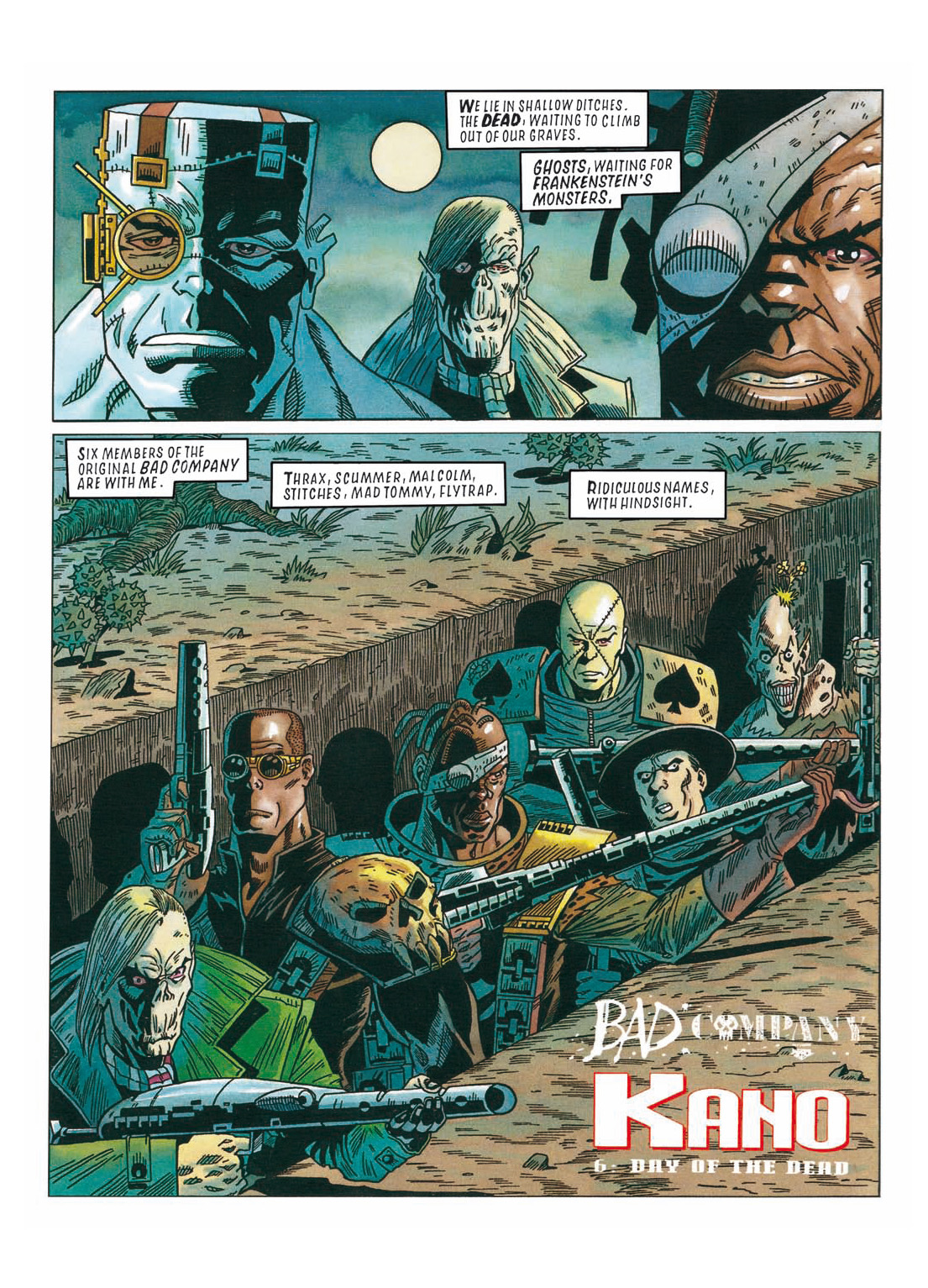 Read online The Complete Bad Company comic -  Issue # TPB - 293