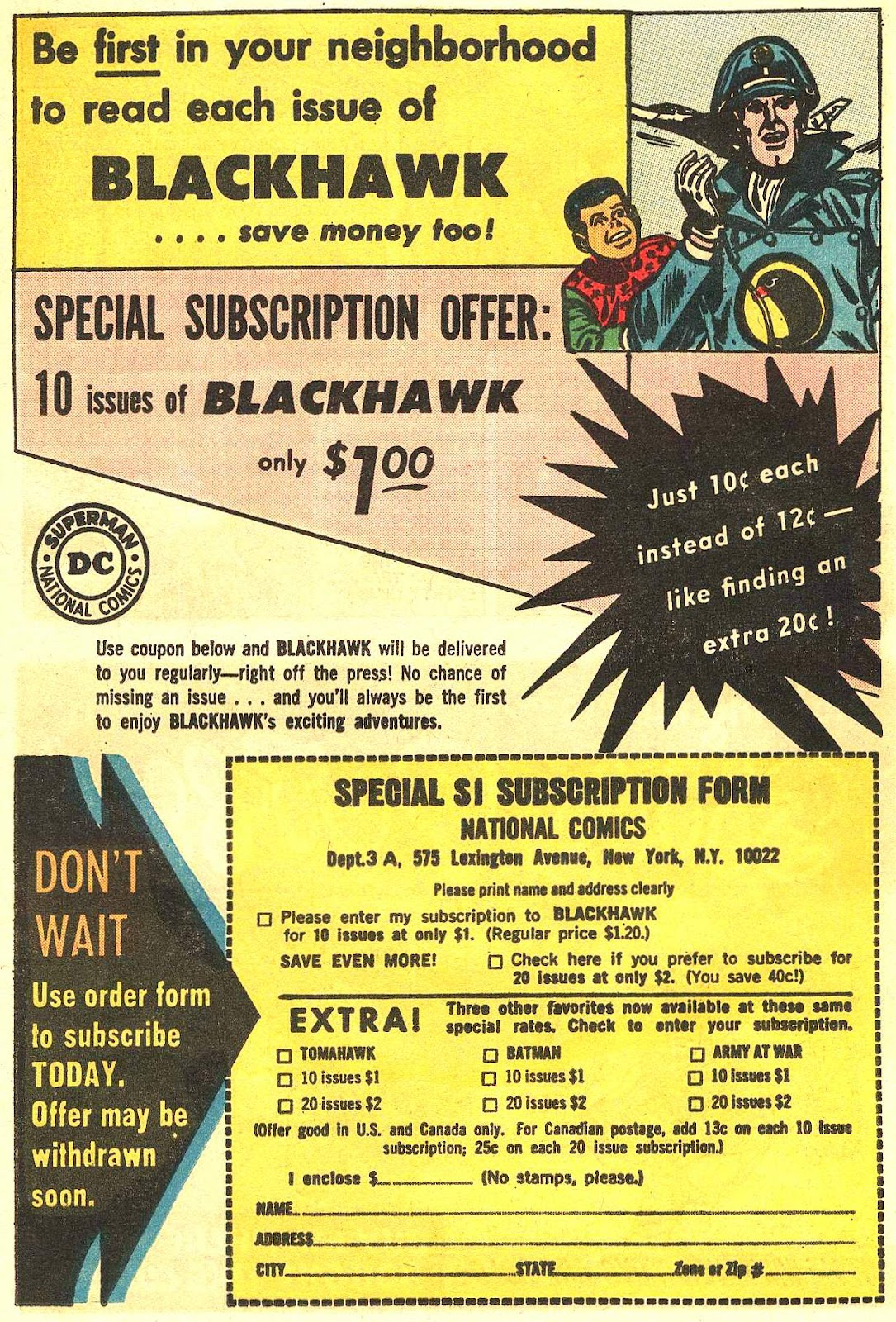 Blackhawk (1957) Issue #201 #94 - English 14