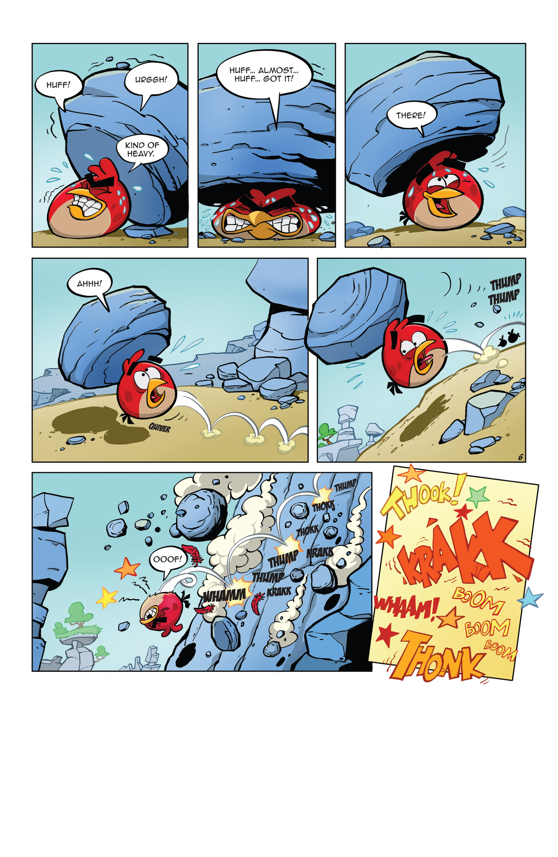 Read online Angry Birds Comics (2014) comic -  Issue #5 - 18