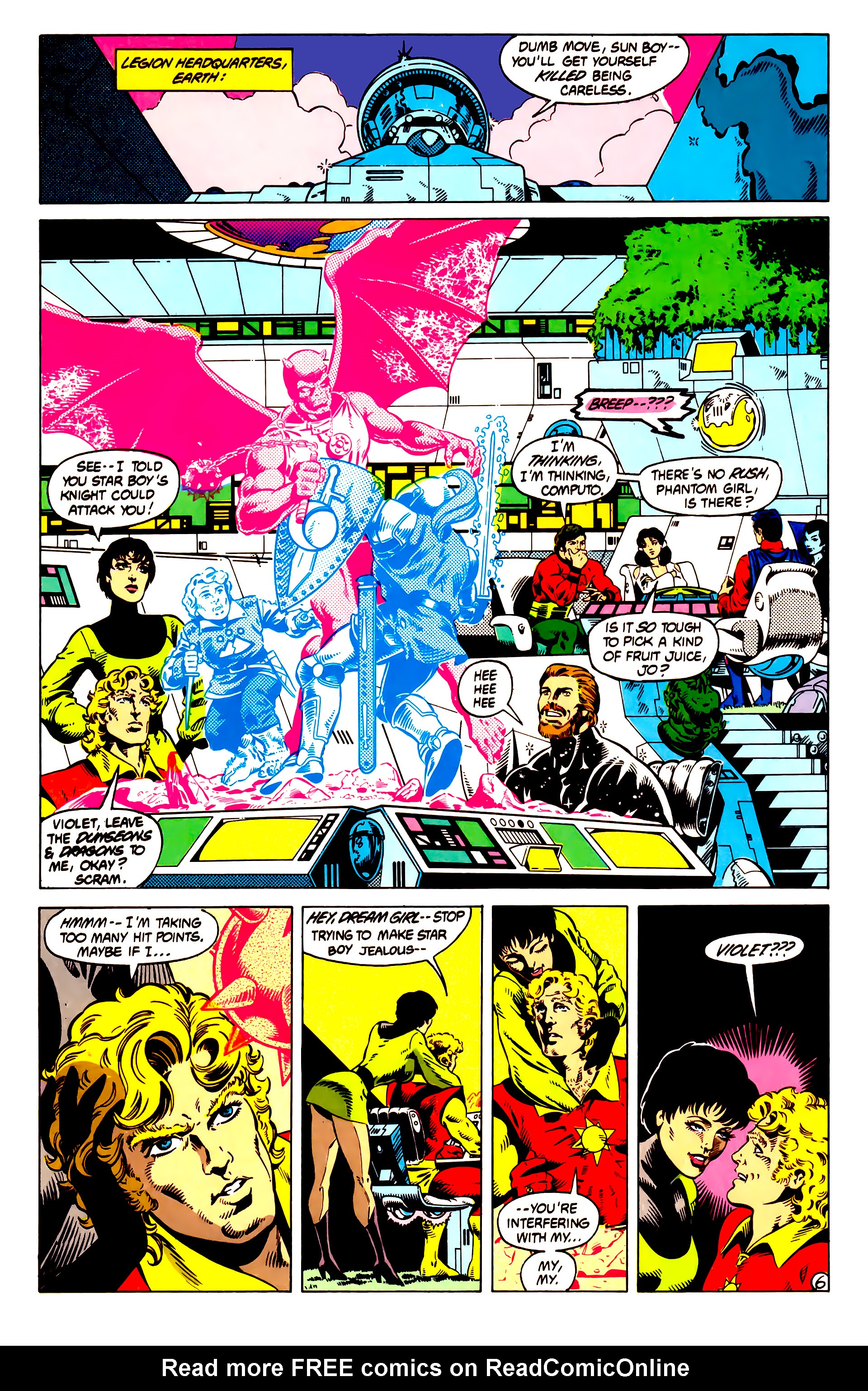 Legion of Super-Heroes (1984) 13 Page 7