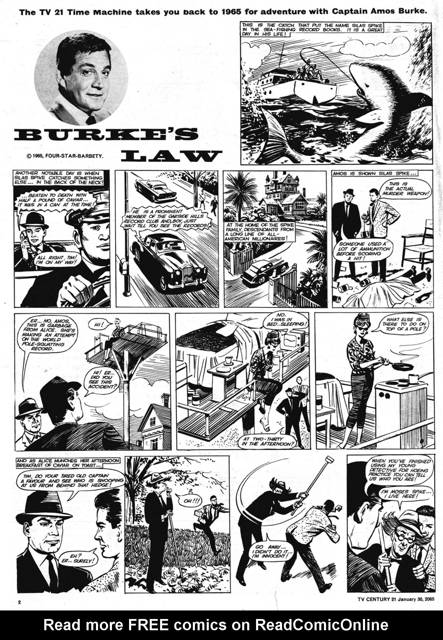 Read online TV Century 21 (TV 21) comic -  Issue #2 - 2