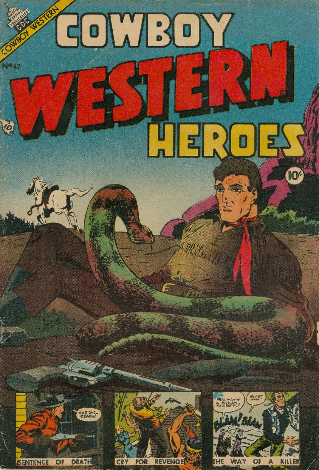 Cowboy Western Heroes 47 Page 1