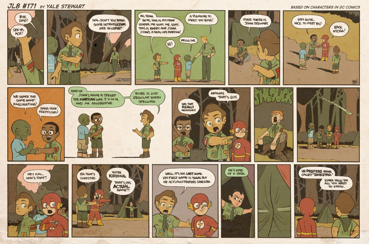 Read online JL8 – The Complete Collection comic -  Issue # TPB (Part 1) - 89