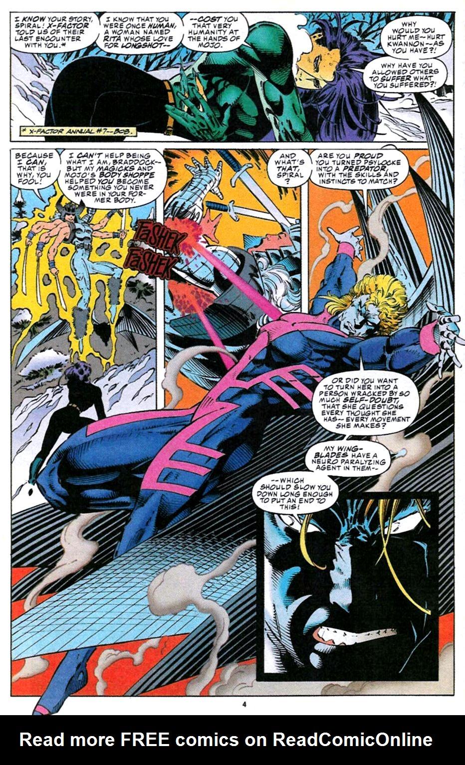 X-Men (1991) 32 Page 3