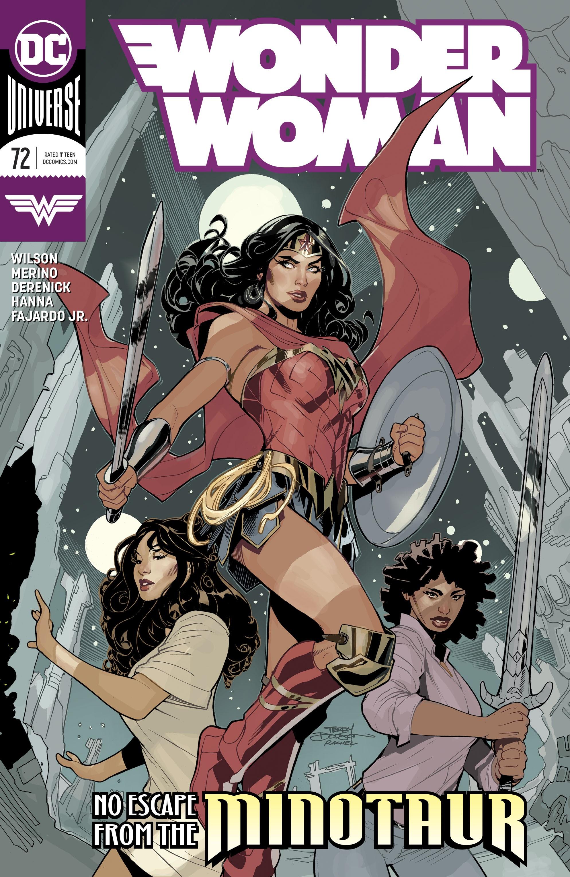 Wonder Woman (2016) 72 Page 1