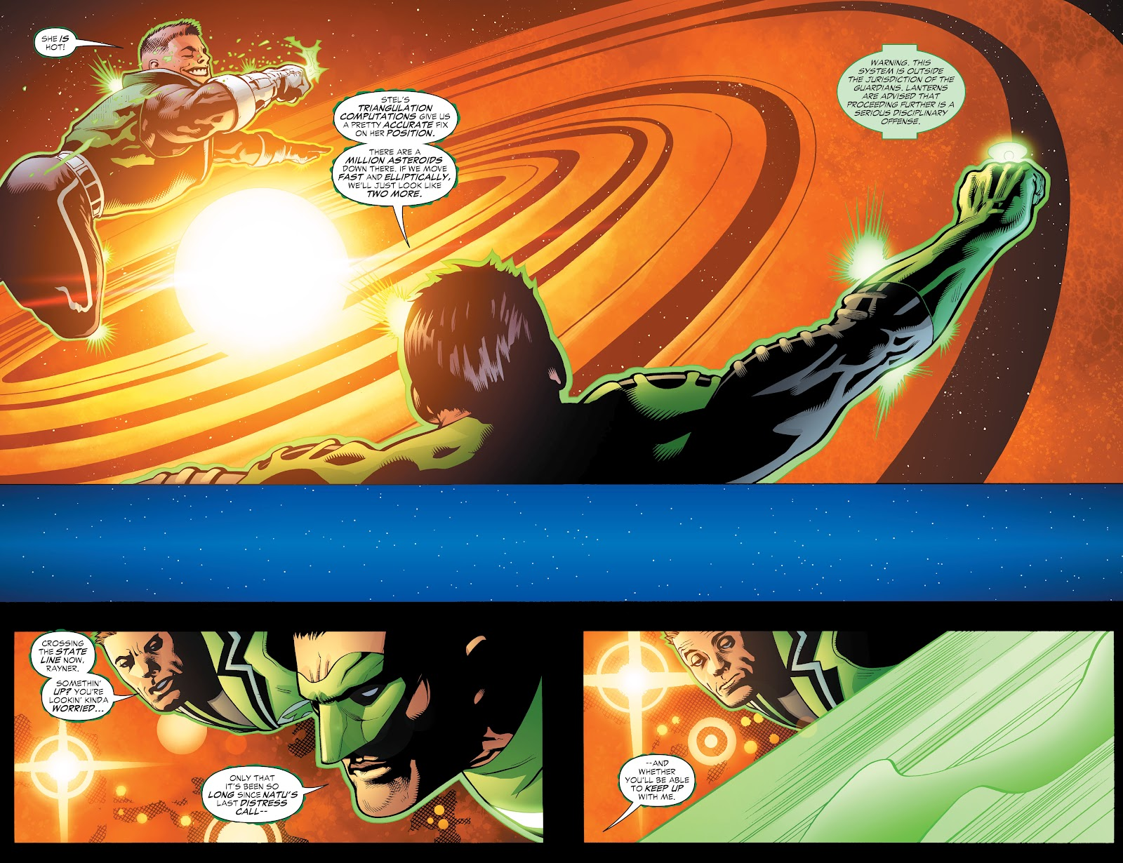 Read online Green Lantern by Geoff Johns comic -  Issue # TPB 1 (Part 3) - 32