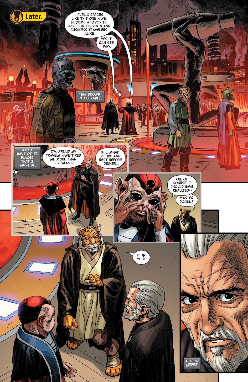 Read online Star Wars: Age of Republic - Count Dooku comic -  Issue # Full - 7