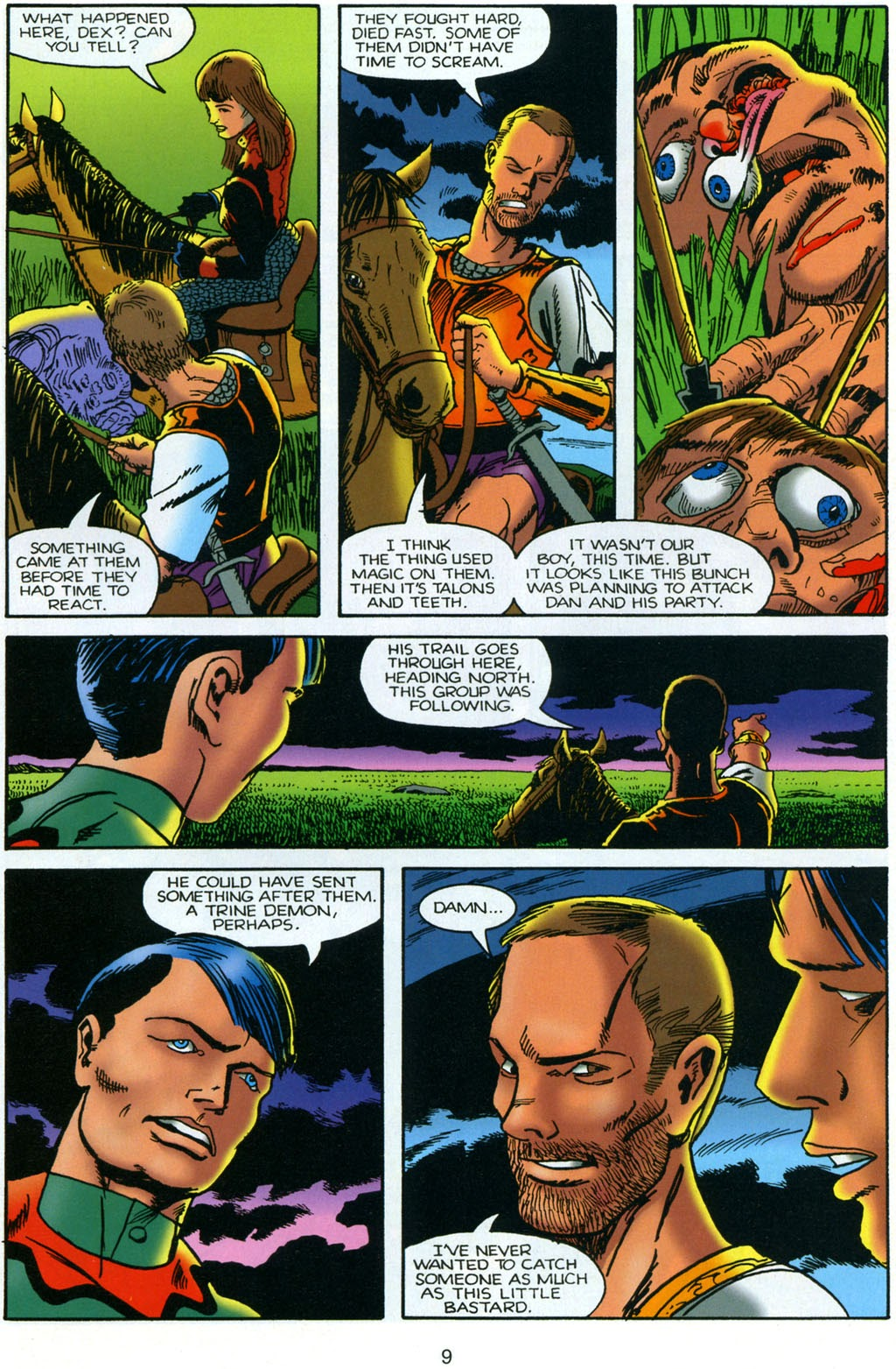 Read online Harsh Realm comic -  Issue #4 - 10