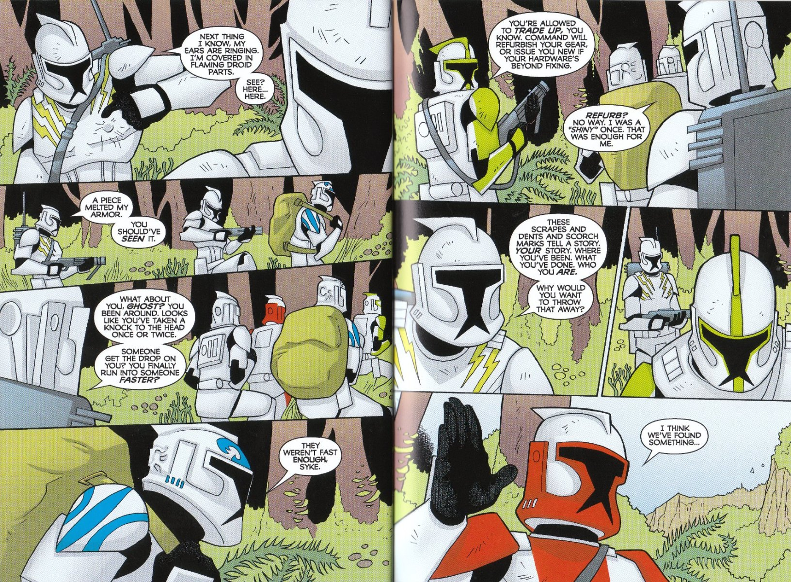 Read online Star Wars: The Clone Wars - The Enemy Within comic -  Issue # Full - 19