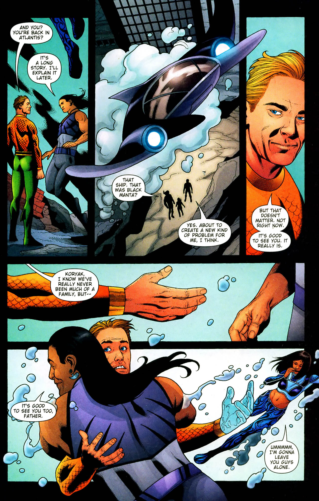 Read online Aquaman (2003) comic -  Issue #33 - 14