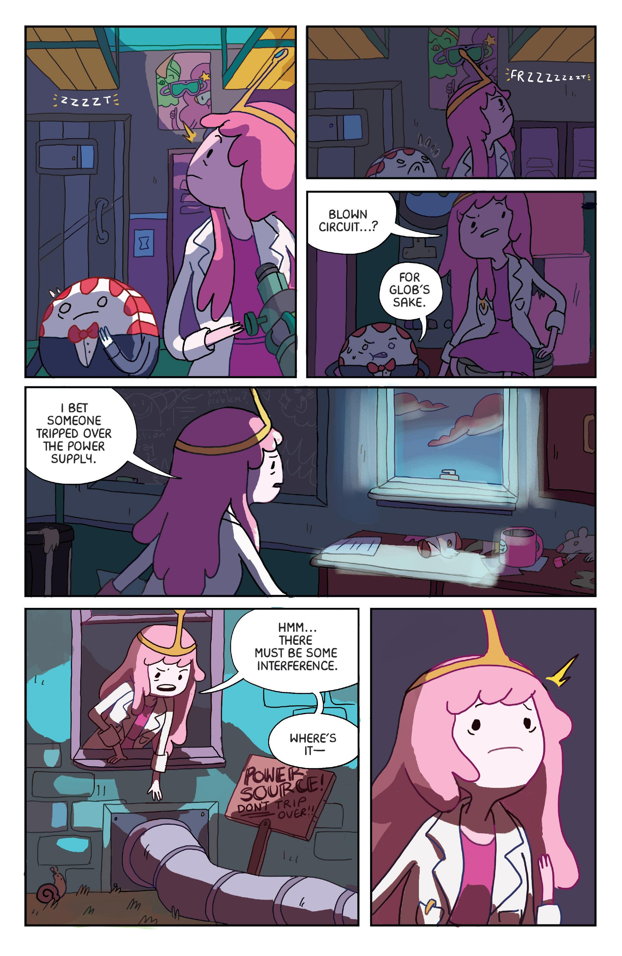 Read online Adventure Time: Marceline Gone Adrift comic -  Issue #1 - 10
