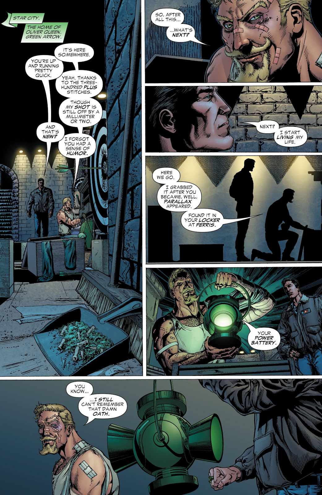 Read online Green Lantern by Geoff Johns comic -  Issue # TPB 1 (Part 2) - 52