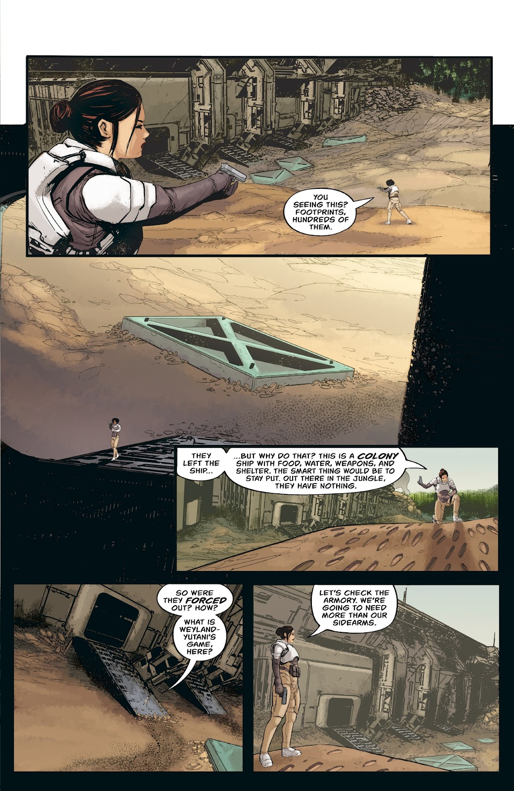 Read online Aliens: Resistance comic -  Issue #3 - 9