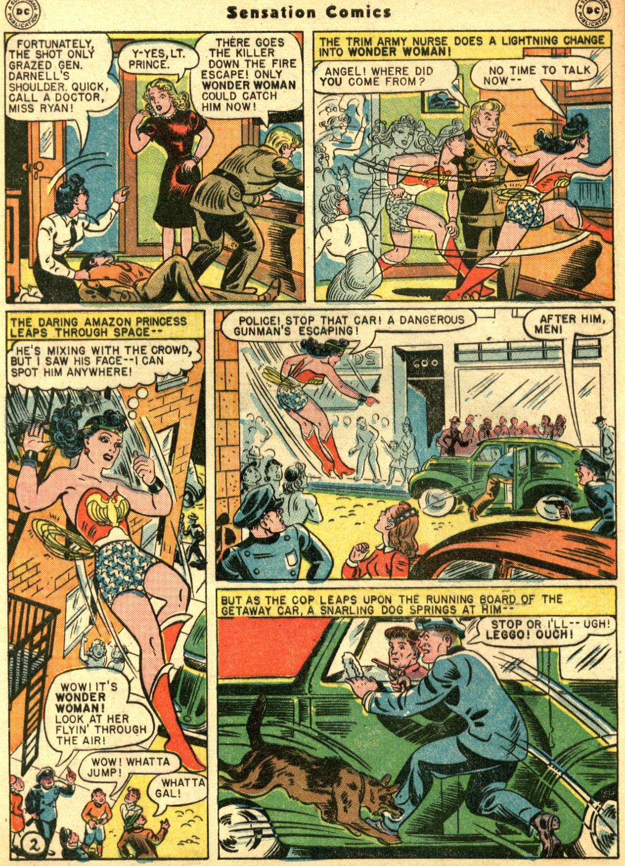 Read online Sensation (Mystery) Comics comic -  Issue #53 - 4