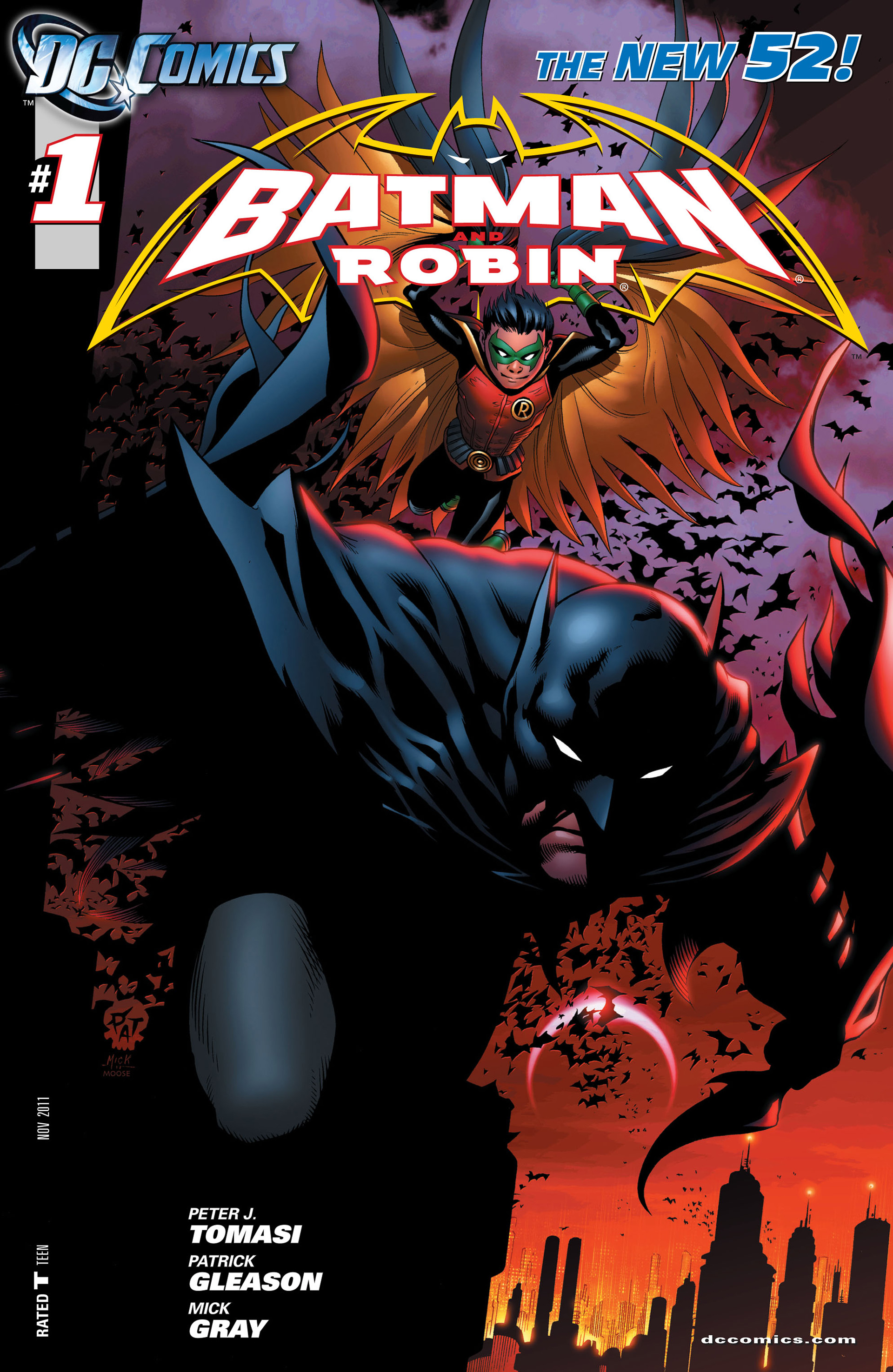 Read online Batman and Robin (2011) comic -  Issue #1 - 1