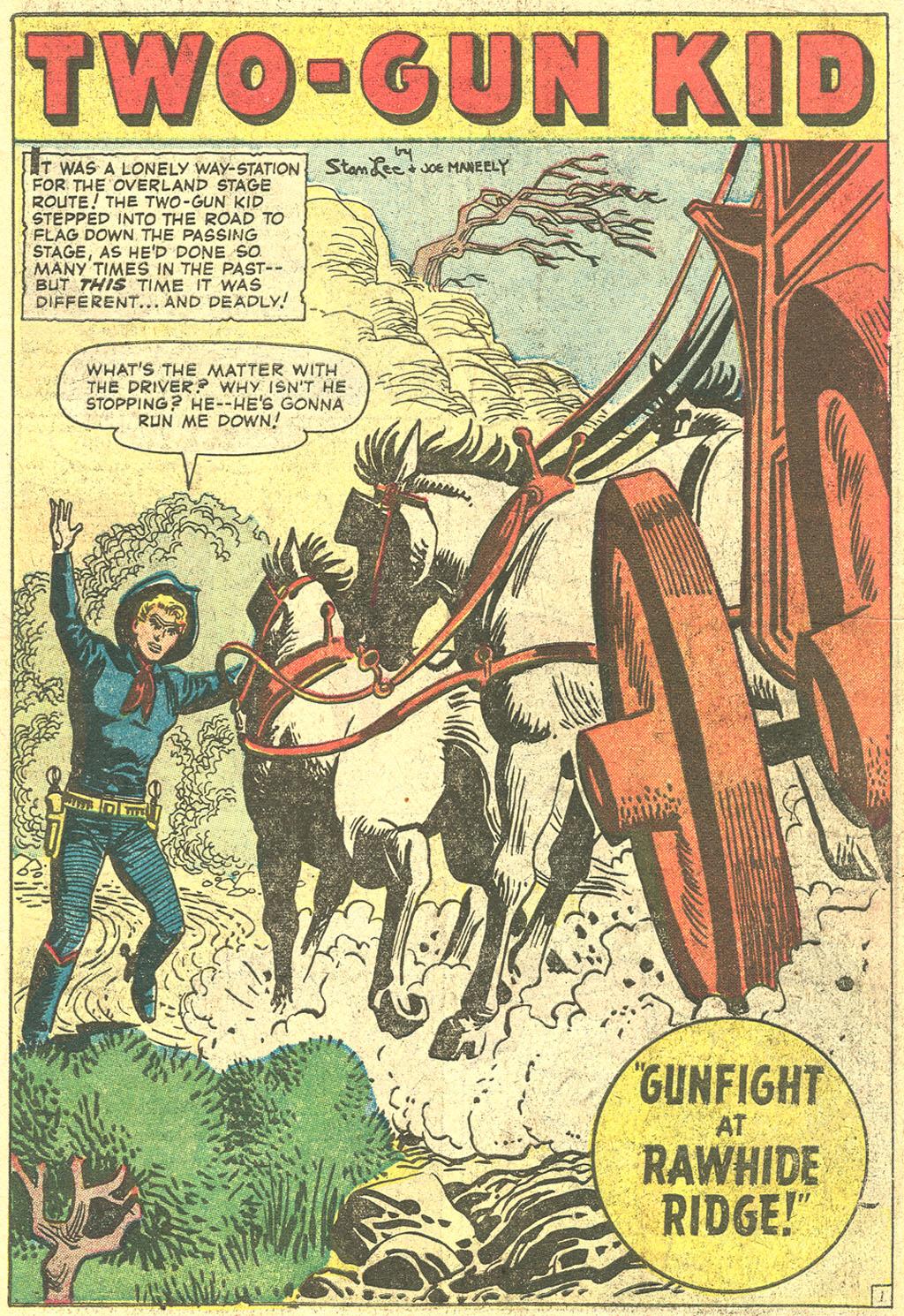 Read online Two-Gun Kid comic -  Issue #44 - 3