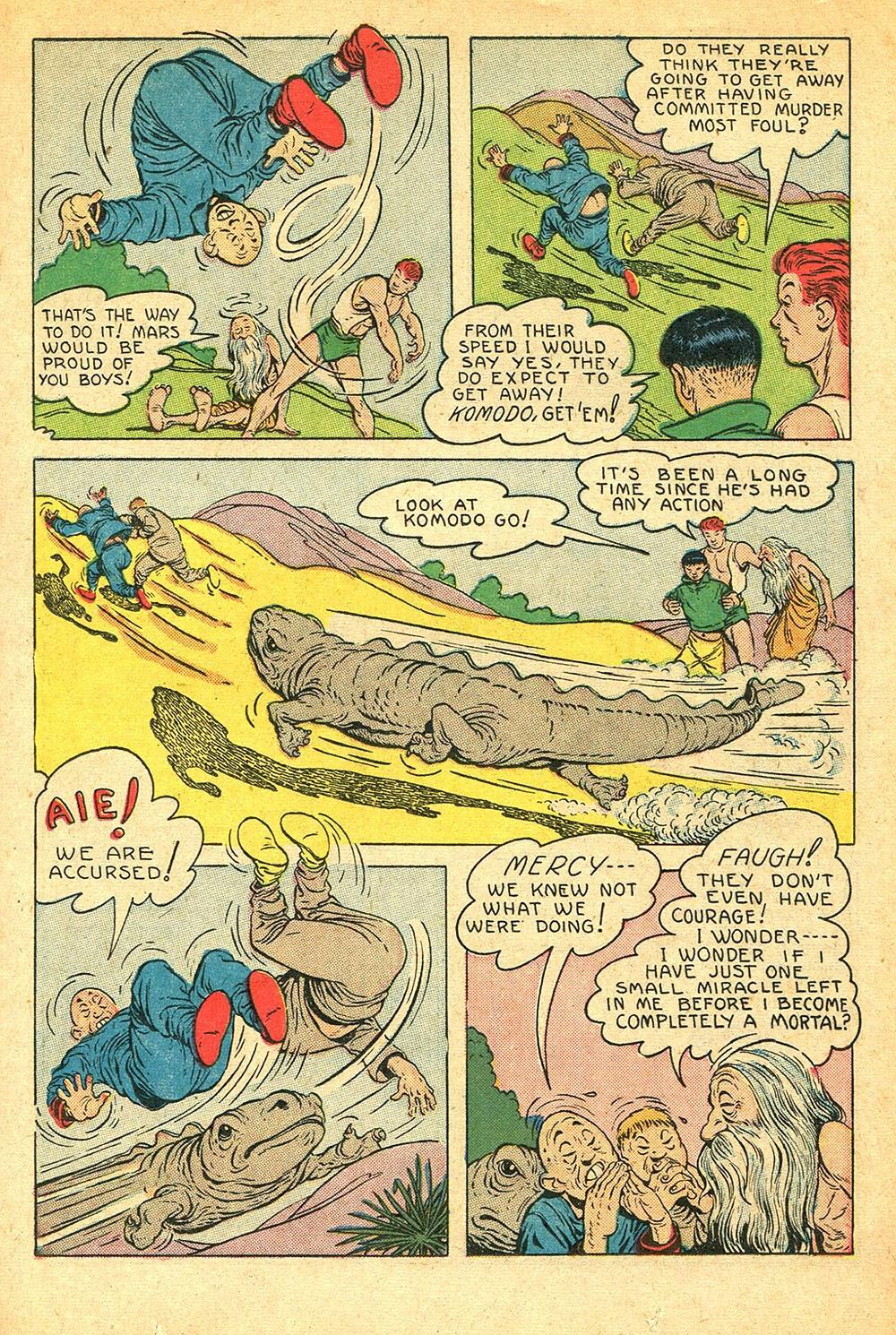 Read online Super-Magician Comics comic -  Issue #56 - 15