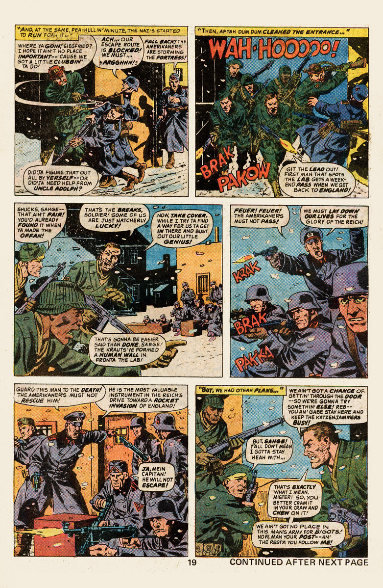 Read online Sgt. Fury comic -  Issue #139 - 21